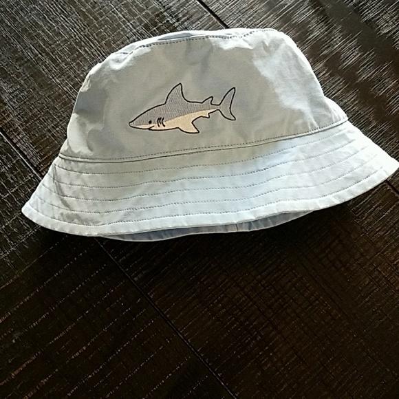 688c0c75a Janie and Jack Shark Print Sun/Swim Hat